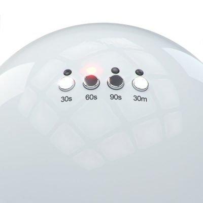 lampada per unghie pulsanti funzioni
