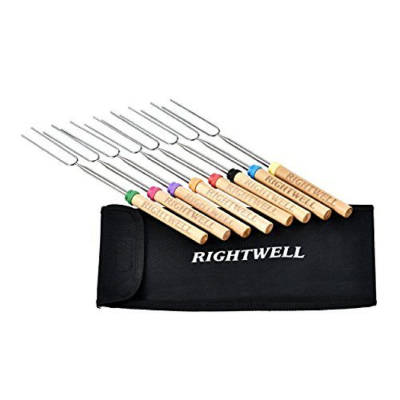 Recensione Accessori barbecue Rightwell 8 Spiedini allungabili