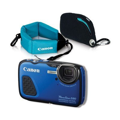 Fotocamera digitale Canon PowerShot D30 con cinghia IMG 2