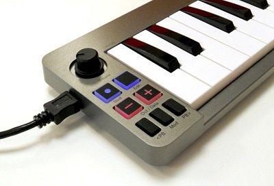 comandi della Keystation Mini 32 MKII