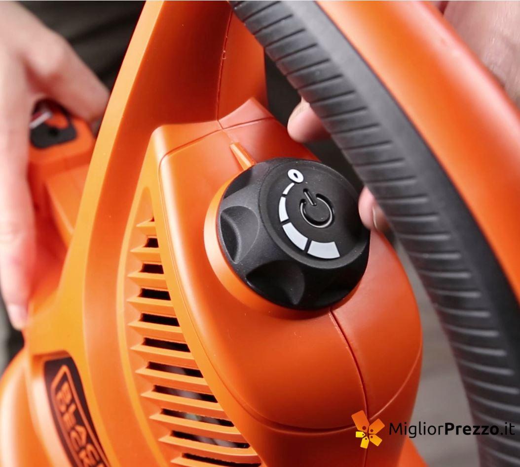 Velocità Soffiatore aspiratore e trituratore Black & Decker GW3030-QS - MigliorPrezzo.it
