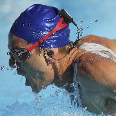 Auricolari bluetooth mp3 AGPTEK S33B subacquei nuotatore sport IMG 6