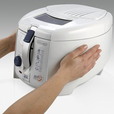 Friggitrice De'Longhi F28311 Rotofry con pareti cool touch IMG 3