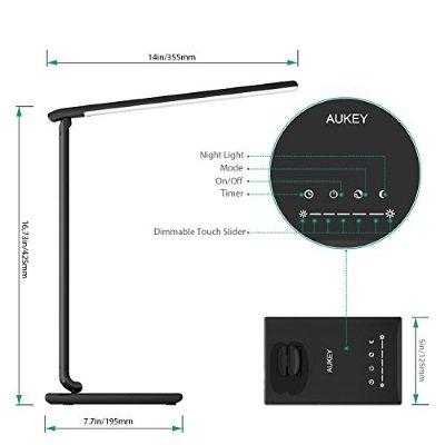 lampada da tavolo AUKEY LT-T10 comandi touch IMG 3