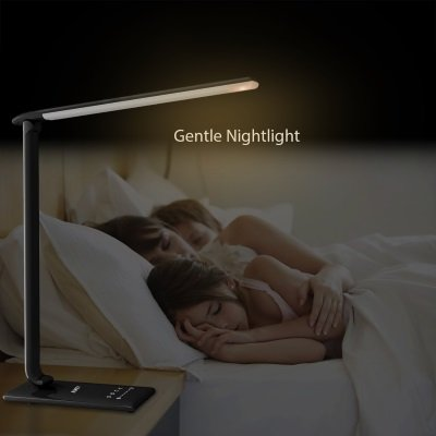 lampada da tavolo AUKEY LT-T10 modalità notte IMG 6