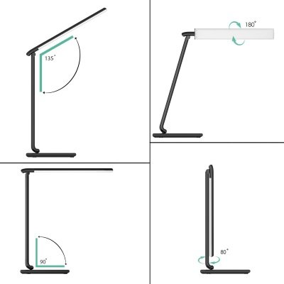 lampada da tavolo AUKEY LT-T10 snodabile e orientabile IMG 2