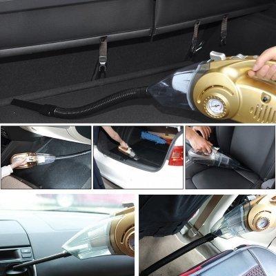 aspirapolvere per auto sumbay in uso