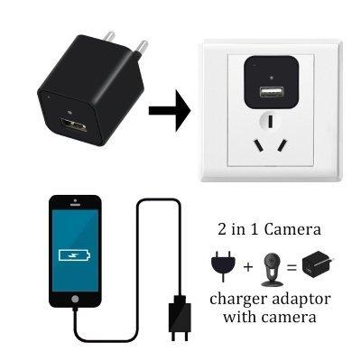 utilizzo caricabatterie con telecamera TANGMI