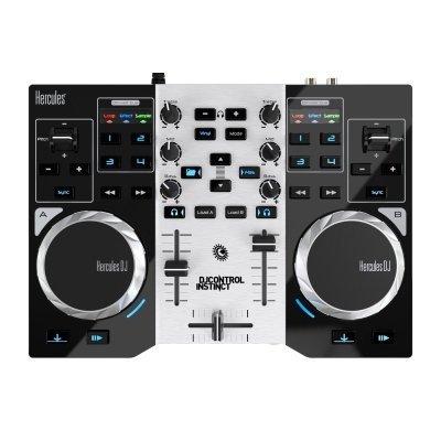 console DJ hercules Control Istinct S dall'alto IMG 2