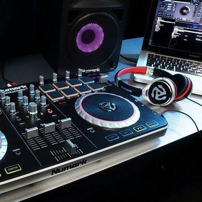 console dj numark pro II in uso IMG 5