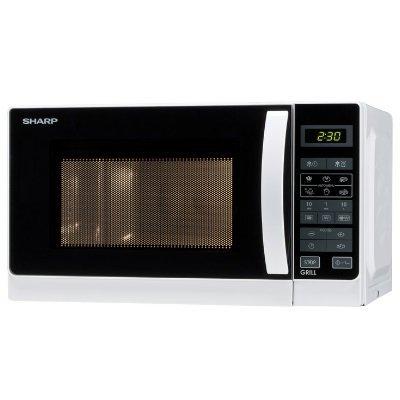 forno a microonde Sharp 642ww combinato micro e grill al quarzo IMG 2