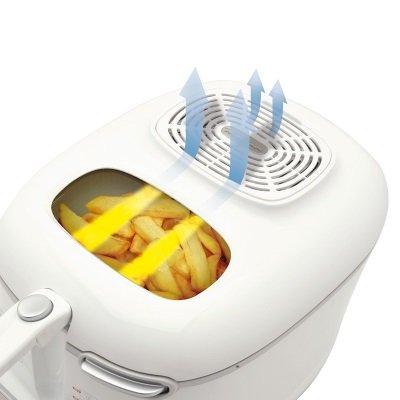 friggitrice Moulinex AM3021 Super Uno filtro anti-odore lavabile e riutilizzabile