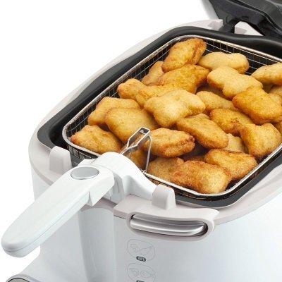 friggitrice Moulinex AM3021 Super Uno capacità di 2,2 litri per 1,5 kg di frittura