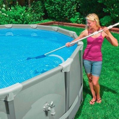 utilizzo kit pulizia piscina intex