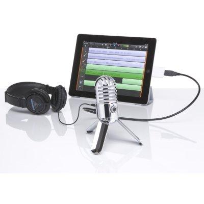 microfono samson meteor mic in uso