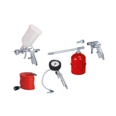 pistola a spruzzo einhell con accessori per compressore IMG 4