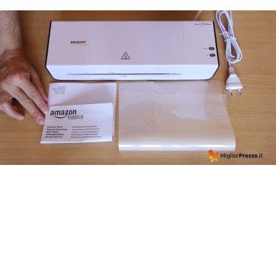 plastificatrice AmazonBasics elementi IMG 2