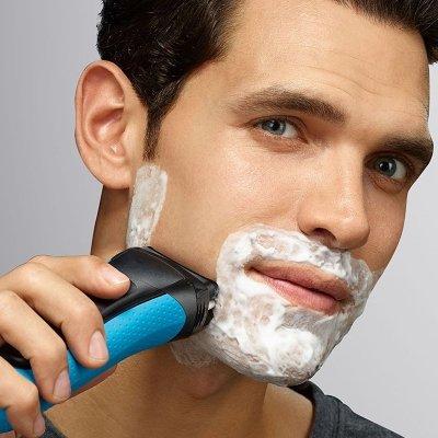 utilizzo rasoio braun
