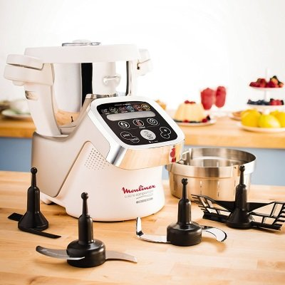 robot da cucina Moulinex Cuisine Companion HF802AA1 accessori IMG 5