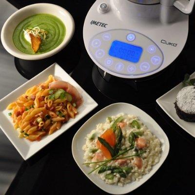 Robot da cucina Imetec Cukò Cooking Machine programmi automatici di cottura e programmi manuali IMG 3