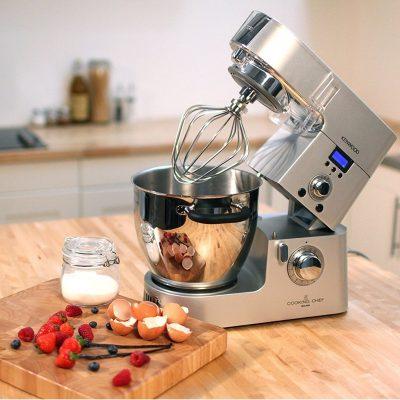 impastatrice planetaria professionale multifunzione Kenwood KM096 Cooking Chef regolazione velocità