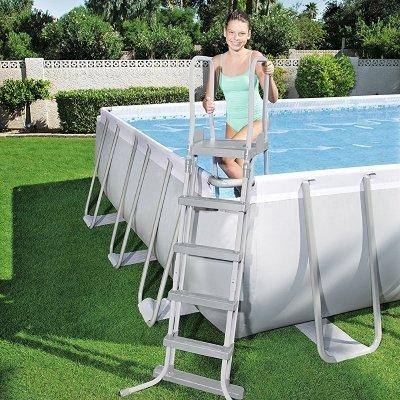 utilizzo scaletta per piscina bestway 58332
