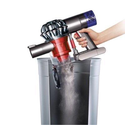 Scopa elettrica Dyson V6 Total Clean senza sacchetto svuotamento igienico e pratico del contenitore IMG 5
