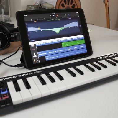tablet tastiera M-audio mini MK2 IMG 5