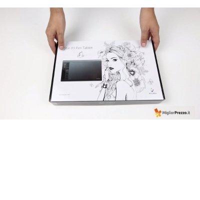 scatola tavoletta grafica XP-pen IMG 4