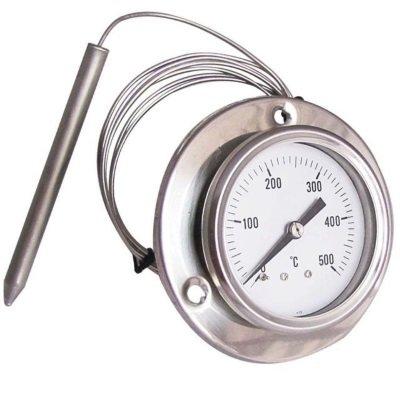 termometro da forno con sonda in acciaio inox