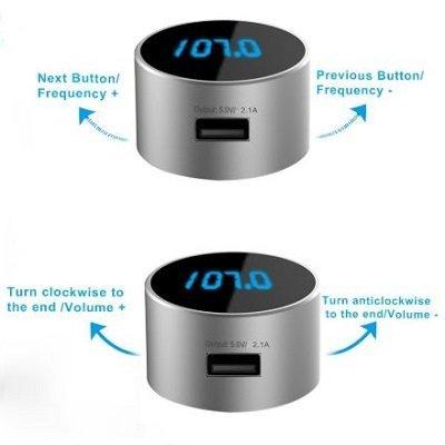 Trasmettitore-auto-FM-Radio-Bluetooth-TeckNet®-Migliorprezzo-E IMG 2