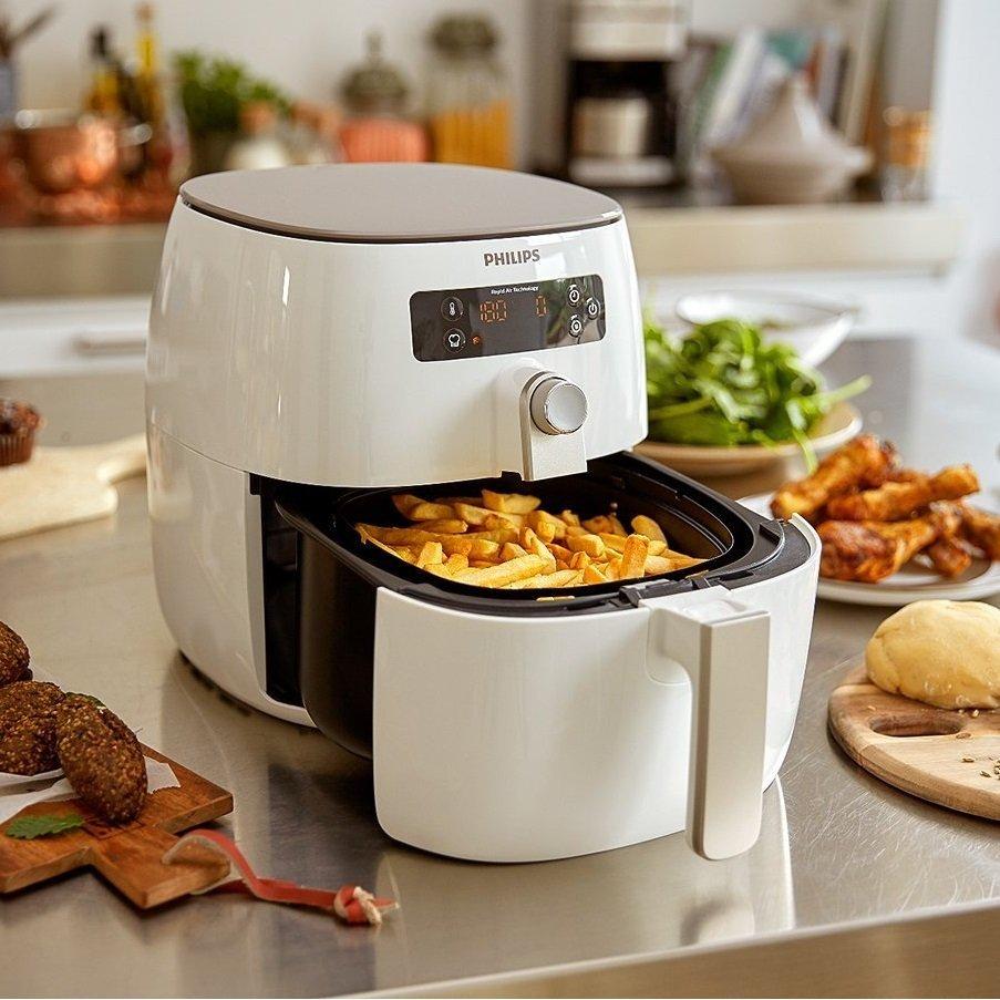 friggitrice ad aria calda Philips HD964000 frittura sana e leggera