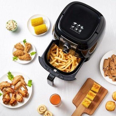 friggitrice ad aria calda aicok AHF001 frittura senza