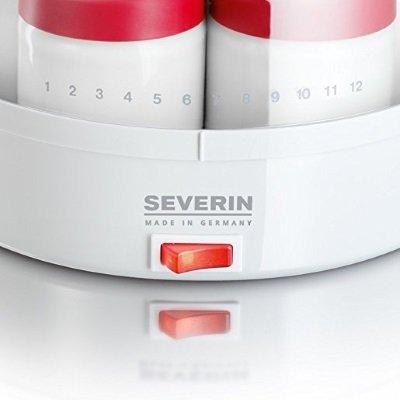yogurtiera severin JG 3519 tasto accensione spegnimento IMG 2