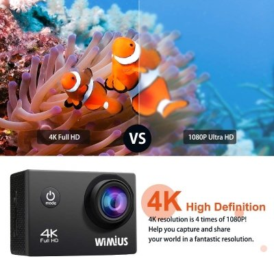 Action Cam 4K Wimius Q1 2