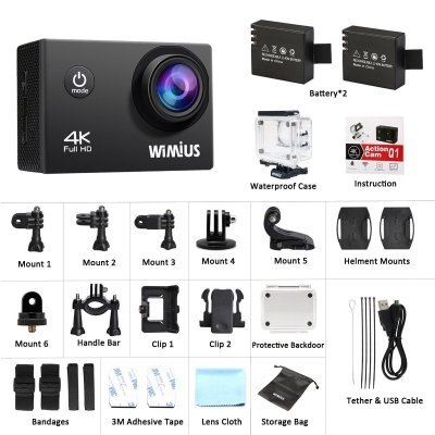 Action Cam 4K Wimius Q1 5