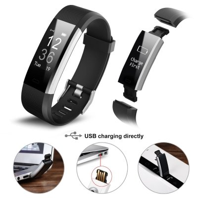 Fitwatch Fitness Tracker orologio Fitness Activity iPosible 4