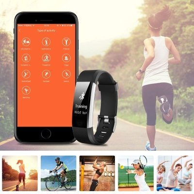 Fitwatch Fitness Tracker orologio Fitness Activity iPosible 5 IMG 4