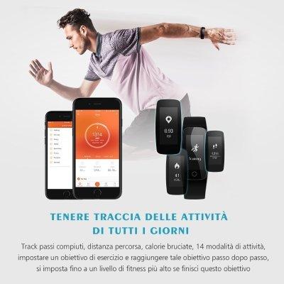 Fitwatch Mpow Bracciale Sport Fitness Tracker IP67 4 IMG 4