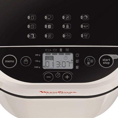 macchina per il pane moulinex Pain Doré OW210130 display programmi funzioni IMG 3