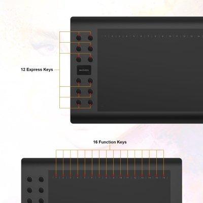 Tavoletta Grafica GAOMON M106K - Professionale 10 x 6 Pollici 3 IMG 3
