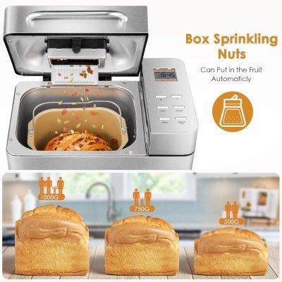 macchina per il pane aicok MBF-013 3 impostazioni di peso IMG 3