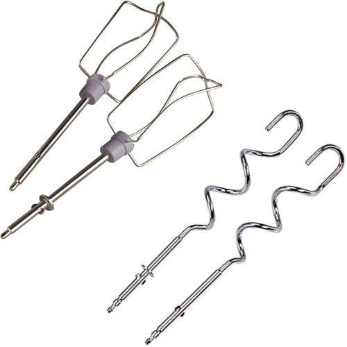 sbattitore elettrico Moulinex HM4101 Prep Line accessori fruste e ganci impastatori in acciaio inox IMG 4