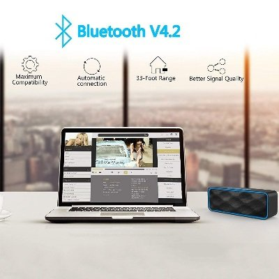 Speaker bluetooth ZoeeTree S1 ZJB01000 bluetooth