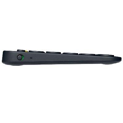 Tastiera-Bluetooth Multidispositivo LOGITECH K380 profilo IMG 3