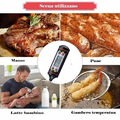 Termometro da cucina HUALANS Caslant DTC-1 usi IMG 6