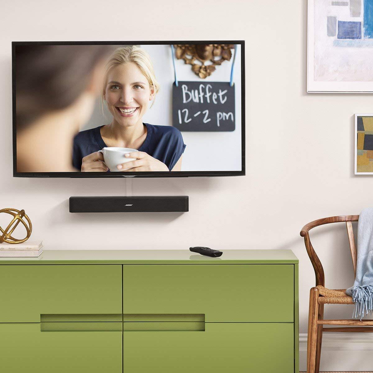 Soundbar Bose Solo 5 TV posizione
