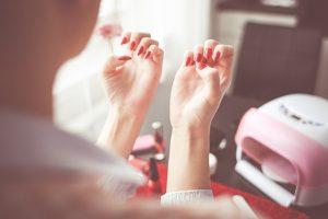 manicure con fornetto