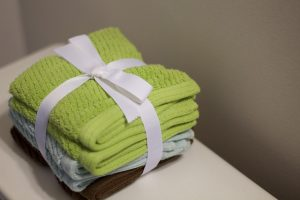 asciugamani regalo