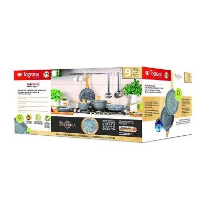 confezione Batteria di pentole Tognana Energica 9 unità IMG 1